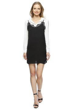 Missguided Siyah Elbise(113953143)