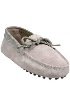 Chaussures Bobbies Mocassins La Craquante Gris(127852325)