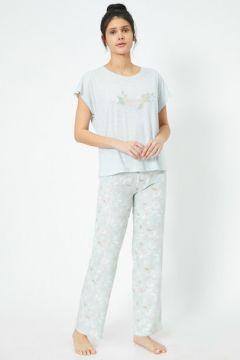 Koton Kadın Kisa Kollu Pijama Takimi(113891337)