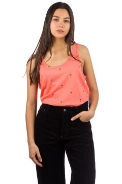 Dedicated Nora Palm Pattern Tank Top oranje(85190733)