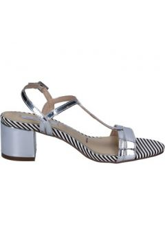 Chaussures escarpins Ikaros sandales argent cuir BT759(115442901)