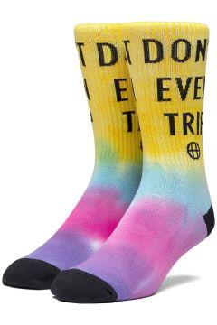 HUF Dont Trip Socks geel(114565724)