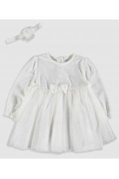 Bebek Kız Bebek Elbise ve Saç Bandı(124355963)