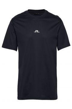 Jordan Bridge T-Shirt Cotton T-Shirt Blau J. LINDEBERG(116547318)