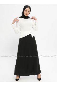 Black - Crew neck - Fully Lined - Dresses - Mileny(110329321)