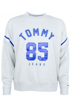 Sweat-shirt Tommy Jeans Sweat col rond gris et bleu pour femme(115411310)