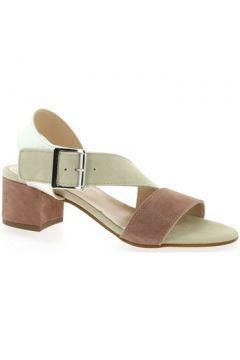 Sandales Reqin\'s Nu pieds cuir velours(127910110)