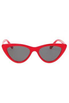 T-Box Kırmızı Çerçeveli Güneş Gözlüğü(113980759)