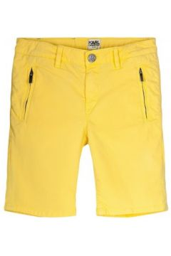 Short enfant Karl Lagerfeld Bermuda jaune(98528988)