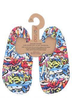 Slipstop Hiphop Junior Çocuk Havuz Ve Deniz Ayakkabısı Mavi(118017546)