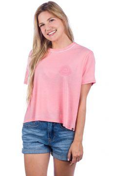 Hurley Rise & Shine Burnout Ranger T-Shirt roze(108030392)