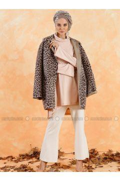 Powder - Polo neck - Cotton - Tunic - Muni Muni(110335007)
