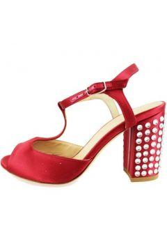 Sandales Lella Baldi sandales rouge satin strass AH826(115400539)