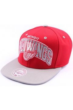 Casquette Mitchell And Ness Snapback Detroit Redwings Rouge et Grise(115396366)