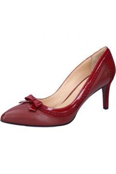 Chaussures escarpins Mi Amor escarpins bordeaux cuir daim BX401(115442553)