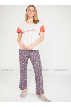 Gray - Pyjama - DeFacto(110327646)