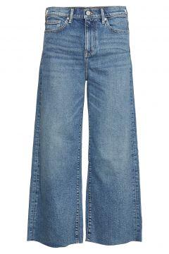 High-Rise Wide-Leg Cropped Jean Jeans Mit Weitem Bein Loose Fit Blau BANANA REPUBLIC(114801748)
