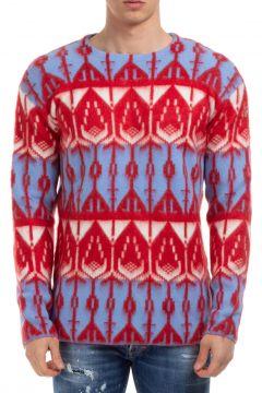 Men's crew neck neckline jumper sweater pullover(118301530)