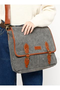 Gray - Shoulder Bags - Ottobags(110318544)