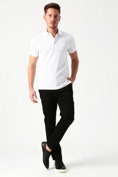 Nautica Normal Bel Siyah Klasik Pantolon(113963779)