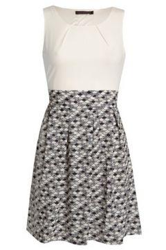 *Tenki White Pattern Skater Dress(108863940)