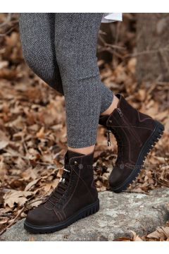 Brown - Boot - Boots - Deripabuç(110313452)