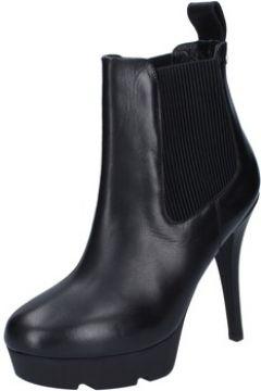 Boots Reve D\'un Jour REVE bottines noir cuir textile BZ466(115399350)