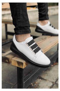 MODA 2020 Özel Tasarım Ortopedik Erkek Beyaz-siyah Spor Ayakkabı(110951694)