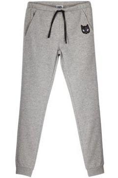 Pantalon enfant Karl Lagerfeld Pantalon gris(115465953)