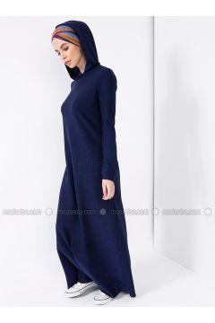 Navy Blue - Dresses - MisCats(110313811)
