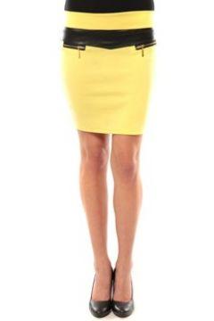 Jupes Nina Rocca Jupe J.X Fashion Jaune(101544220)