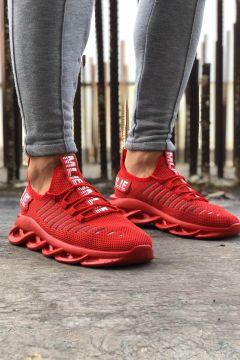 HAYATINIZI KOLAYLAŞTIRIN Erkek Kırmızı Spor Ayakkabı(118647789)