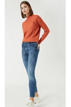 Koton Kadın Pamuklu Skinny Yüksek Bel Jean(123872256)