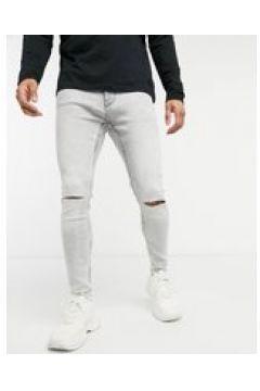 Bershka - Jeans super skinny grigio chiaro(124790566)