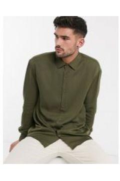 Pull&Bear - Camicia kaki-Verde(112451332)