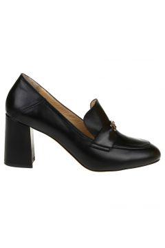 Fabrika Deri Siyah Düz Ayakkabı(125086420)