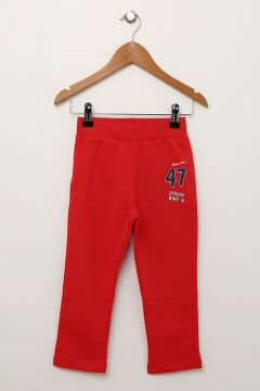 Limon Erkek Çocuk Kırmızı Sweatpant 7-8 Yaş 796686(97592334)