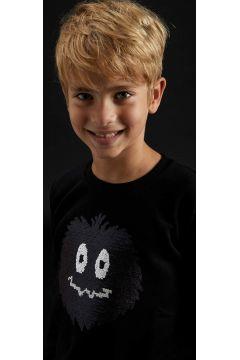 DeFacto Erkek Çocuk Hayalet Balkabağı Payetli Sweatshirt(125927188)