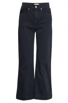 Jane Cropped Pants Hosen Mit Weitem Bein Blau MAYLA STOCKHOLM(114153498)