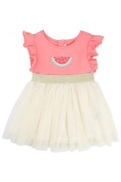Kleid mit Baumwolle & Tüll Wassermelone(113612084)