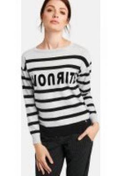 Sweter w paski Biały XXS(115902309)