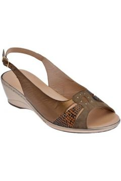 Sandales Confort 7038 Talon compensé(127858610)