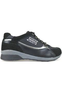 Chaussures enfant Miss Sixty sneakers noir daim cuir AJ937(115400288)