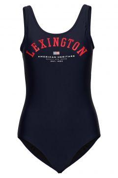 Lisa Swimsuit Badeanzug Bademode Blau LEXINGTON CLOTHING(114154236)
