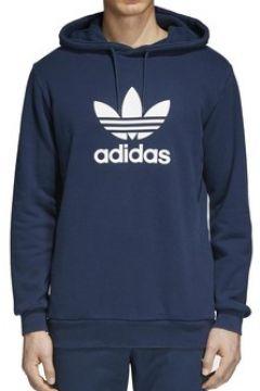 Sweat-shirt adidas ORIGINAL TREFOIL HOODIE FELPA BLU(115476783)