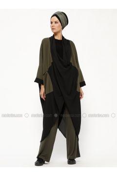 Black - Khaki - Unlined - Topcoat - Miorespiro(110320611)