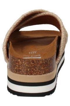 Claquettes 5 Pro Ject sandales beige textile jaune AC588(115393615)