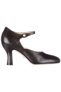 Women's leather pumps court shoes high heel malga kid(118299649)