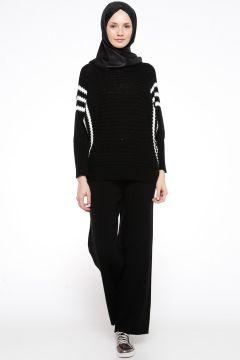 Pantalon İLMEK TRİKO Noir(108581524)