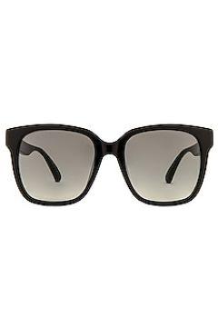 Солнцезащитные очки pop logo oversized wayfarer - Gucci(117084349)